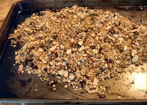 granola cookin