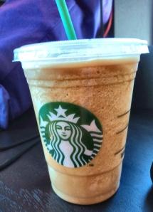 My coffee frappucino!
