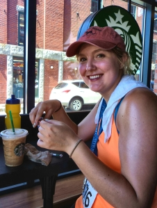 Me+Snickers+Starbucks = Happiness!