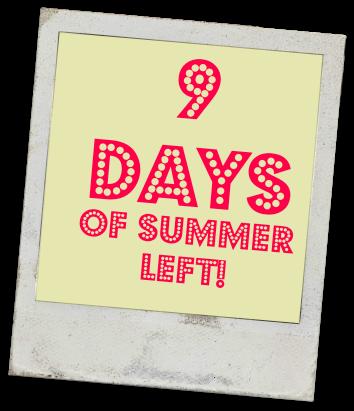 9 days banner