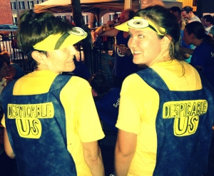 We were quite a Despicable Duo!