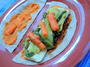 oriental tofu sweet potato wrap2