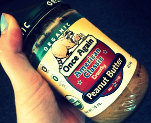 This peanut butter is amazing!