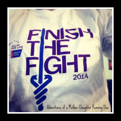 My Relay for Life t-shirt!