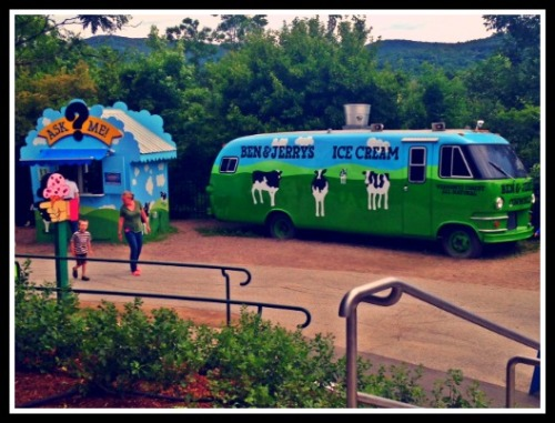 Our visit to the Ben and Jerry's Factory in Vermont.