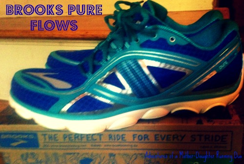 My new running sneakers, the Brooks Pure Flows
