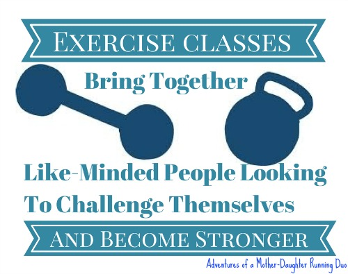 Exercise Classes Bring Together Like-Minded People Looking to get stronger