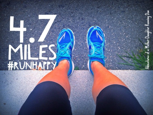 I ran a comfortable 5 miles this week! Marathon training is back.