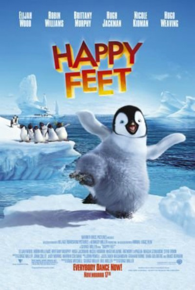 I have Happy Feet.
