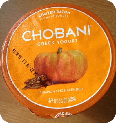 Pumpkin Spice Greek Yogurt