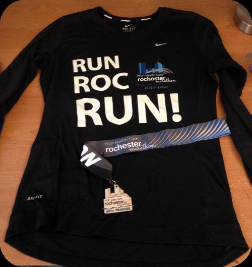 Rochester Marathon Shirt
