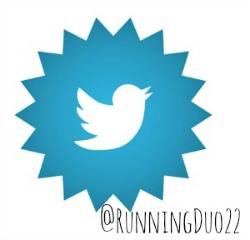 I tweet @RunningDuo22