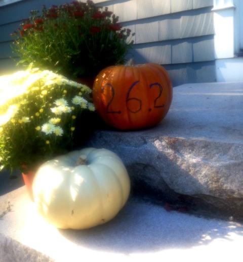 Marathon pumpkin