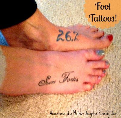 Running Tattoos Marathoners Running Tattoos