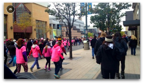 Making Strides Against Breast Cancer walk, Rochester NY