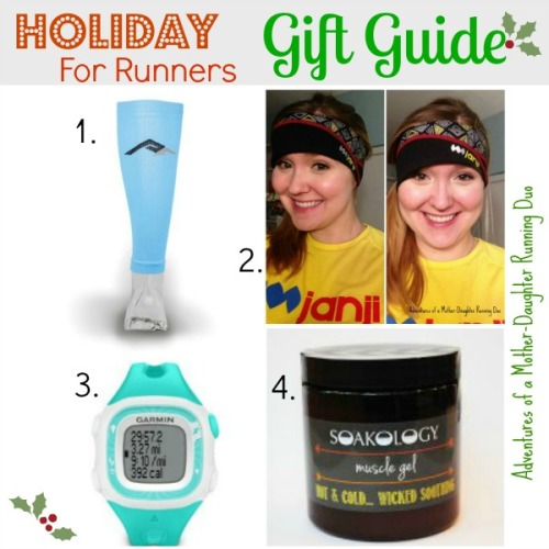 Gift Guide for Runners. Adventures of a Mother-Daughter Running Duo.
