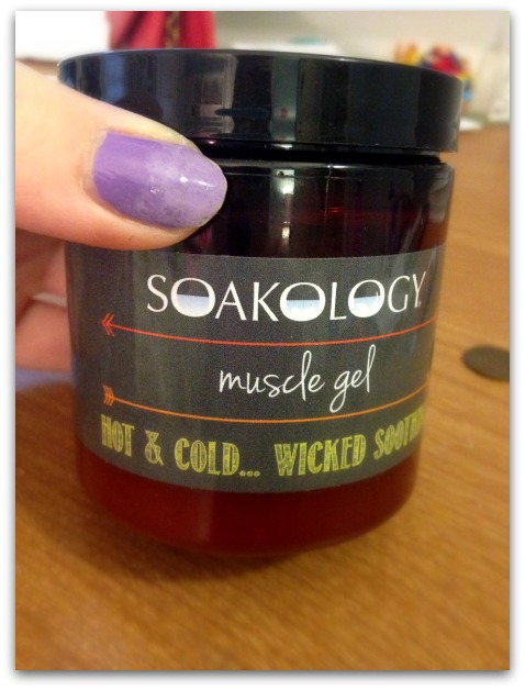 Soakology Muscle Gel for Sore Muscles