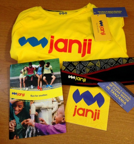 Buying products from companies like Janji is one way to give back through running.
